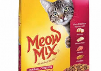 Meow Mix Hair Ball Control