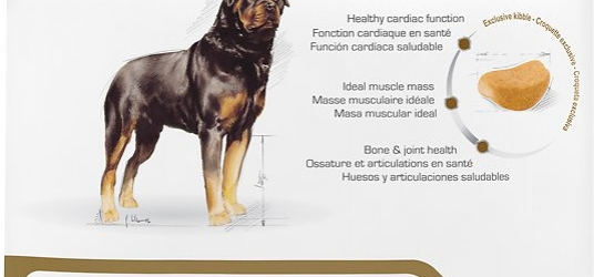 Rottweiler Adult Dog Food