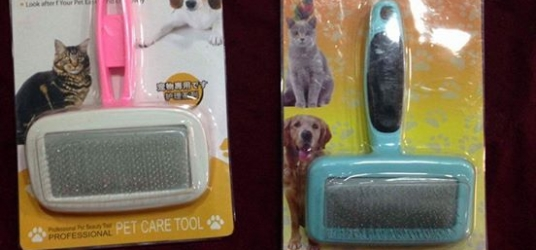 Hair Brush for Cats & Dogs