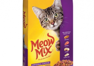 Meow Mix Original Choice Cat Food